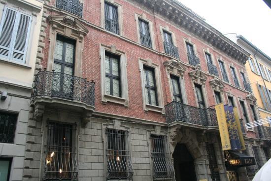 Bagatti Valsecchi Museum: facciata