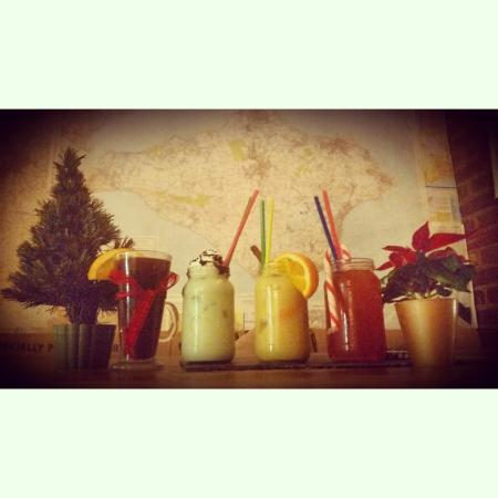 The mess-canteen+Bar: Festive cocktails