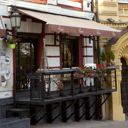 Gonchar Hotel: Окрестности отеля, Андреевский спуск