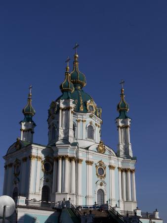 Gonchar Hotel: Андреевская церковь