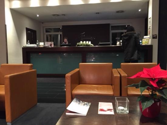 Rezeption Bild Von Fleming S Conference Hotel Wien Wien Tripadvisor