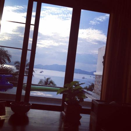 View from sofa