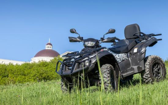 Shamakhi, อาเซอร์ไบจาน: ATV ride