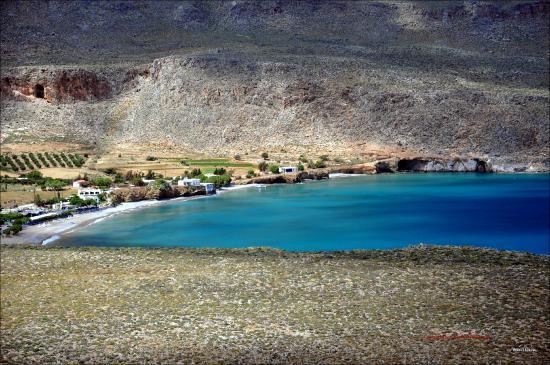 Kato Zakros, Grækenland: Bucht