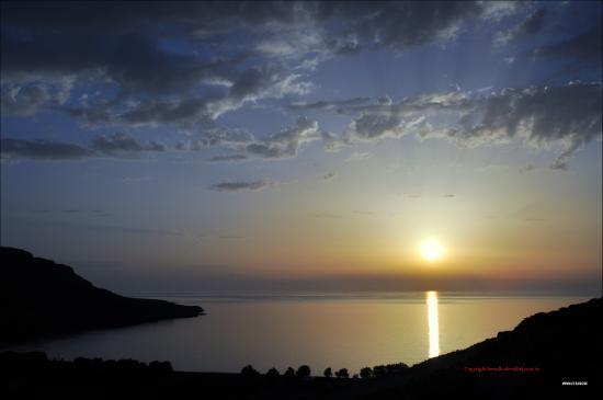 Kato Zakros, Yunanistan: Sonnenaufgang
