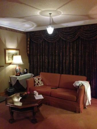 Callow Hall Hotel: Our room