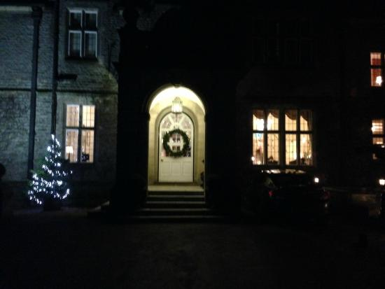 Callow Hall Hotel : Outside the main entrance