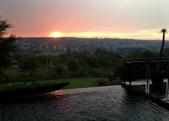 Aloe Lane Guest Lodge: View from pool