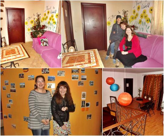 Hostel Peaches : having fun in the common areas