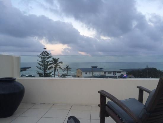 Paradiso Resort Kingscliff : View from rooftop spa deck