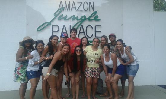 Amazon Jungle Palace: Pier Manaus/Escritório