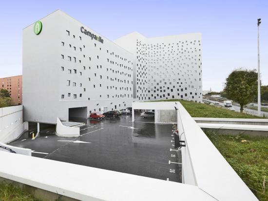Campanile Lille - Euralille: Parking facile d'accés et à grande capacité