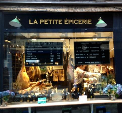 la vitrine devant laquelle on salive d j picture of la petite epicerie rouen tripadvisor. Black Bedroom Furniture Sets. Home Design Ideas
