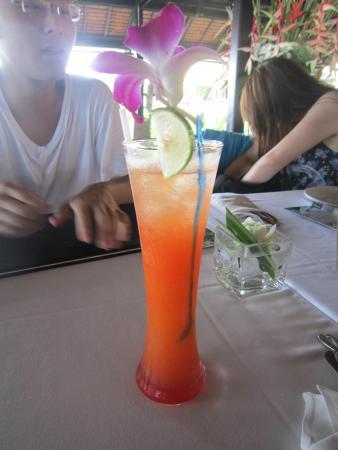 Lotus Restaurant : Tequila Sunrise