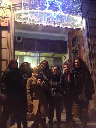 Gran Torino Garage Bar: Cena 13/12/2014 chicas ADEDI