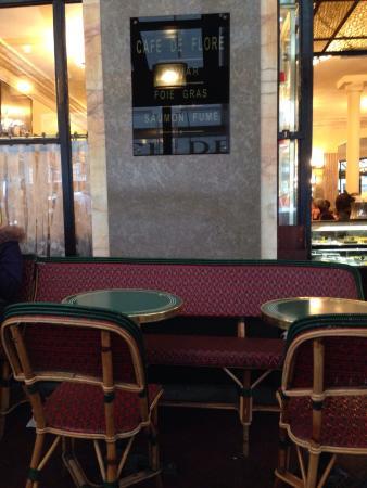 Paris, Frankrig: Cafe de flore