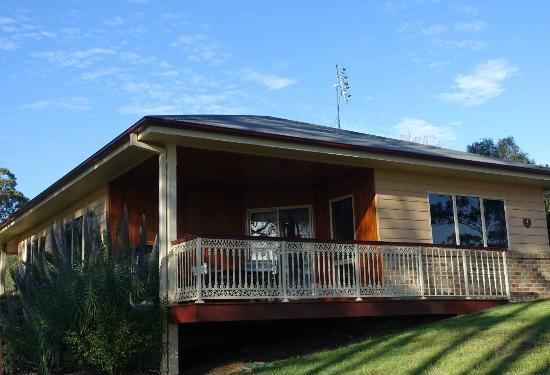 Merimbula Robyns Nest: Zimmer mit Terrasse