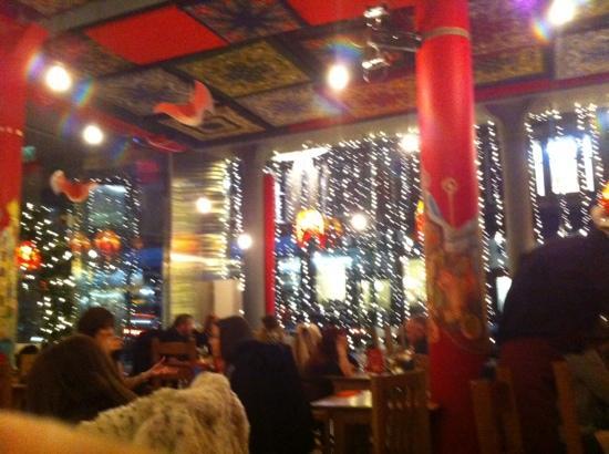 Glitzy Decor Picture Of Cossachok Restaurant Glasgow Tripadvisor