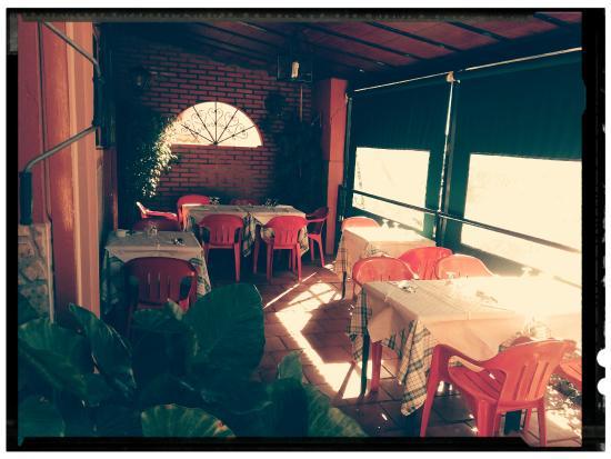 Terraza Restaurante Las Rejas