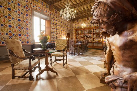 Serre di Rapolano, Itália: Salone