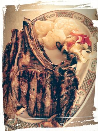 Restaurante Las Rejas: Carnes a la parrilla