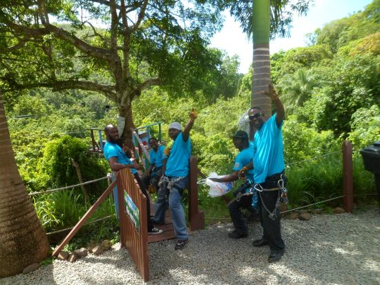 Antigua Rainforest Canopy Tour : The Rangers