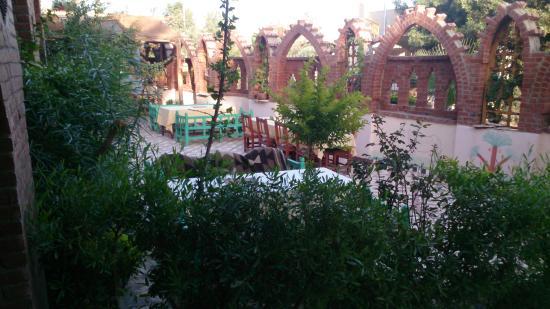 African garden  cafe - restaurant