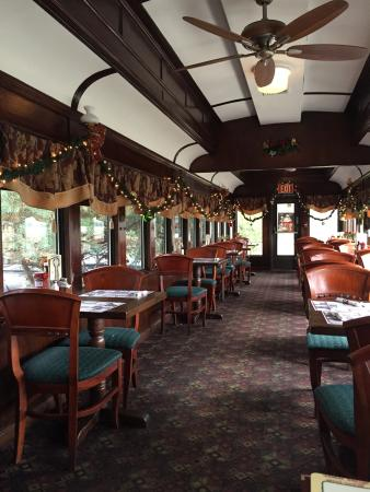 Old Train Car Seats Picture Of Clinton Station Diner