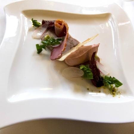 Restaurant At Rushton Hall Hotel: Duck Starter