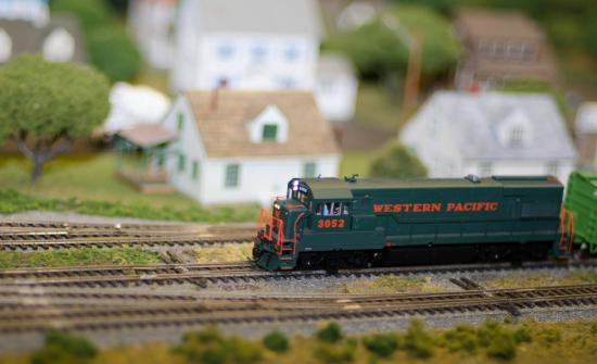Miniature World of Trains: Reminds me of Mr. Roger's Neighborhood