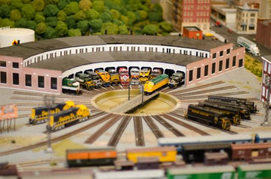 Miniature World of Trains: Roundhouse