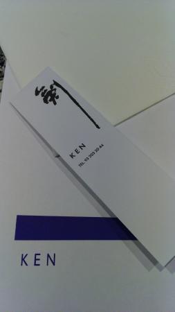 Ken Restaurante : Mantel y logo