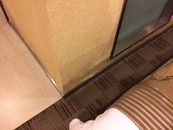 Huashan International Hotel: Water damage
