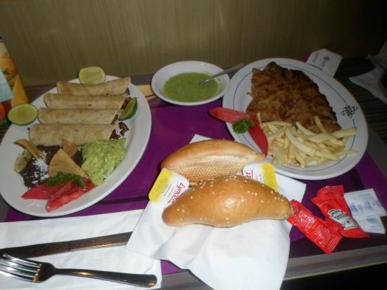 Grand Prix Hotel: A comida do restaurante é muito gostosa!