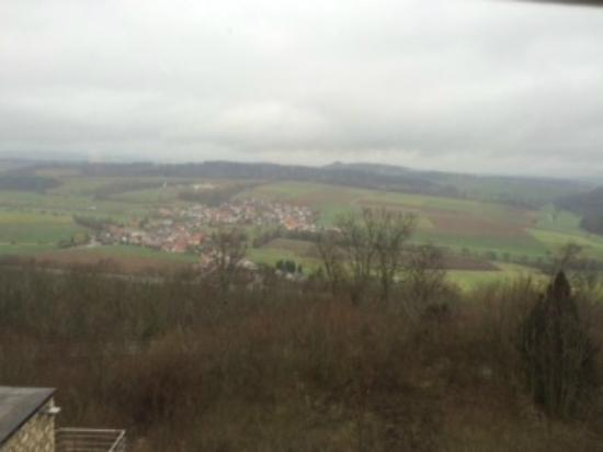 Lauchheim, Германия: View from my table