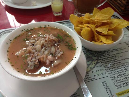 Cevicheria El Gato: Ceviche mixto de mariscos
