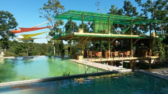 Una de las piscinas picture of termales de santa teresa for Piscina santa teresa