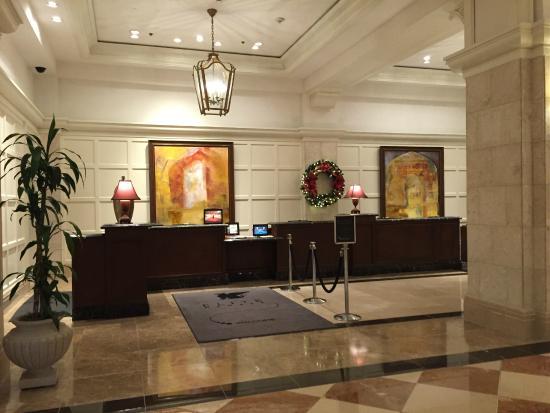 JW Marriott Orlando, Grande Lakes: Check-In / Lobby
