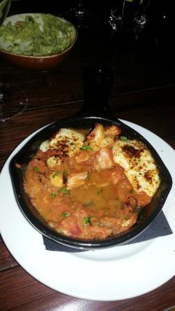 Bandolero: shrimp fundido