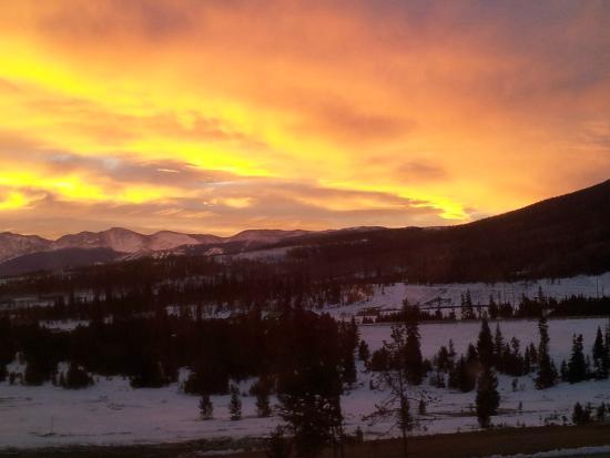 Snow Mountain Ranch: Sunrise 12/13/14