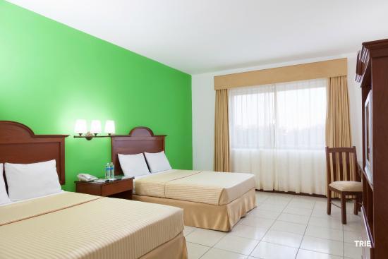 Hotel Costa Maya Inn: Habitación Estándar con 2 camas matrimoniales