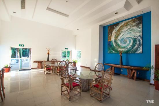 Hotel Costa Maya Inn: Lobby con Wi-Fi gratis