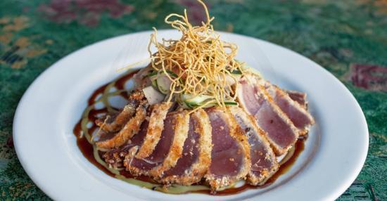 Pearl's Saltwater Grille : Wasabi Tuna