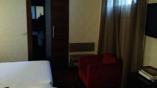 Hotel Compostela : Controcampo della camera