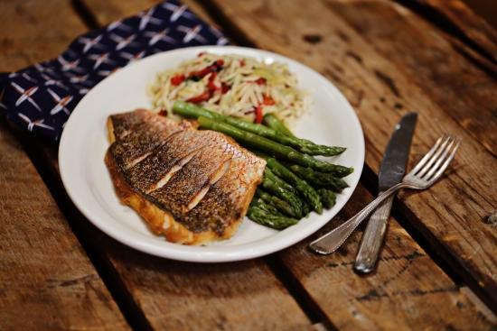 Feby's Fishery: Seared red Snapperr