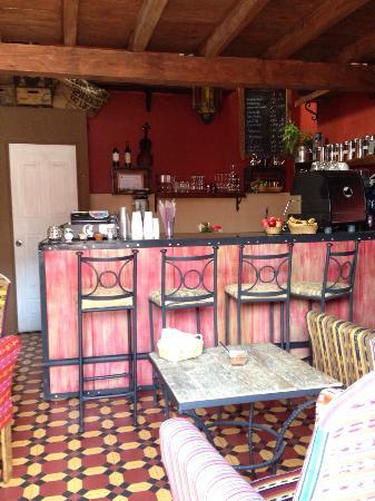 Cafe Boheme: Lovely colors