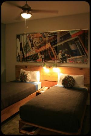 The Good Hotel : Habitación