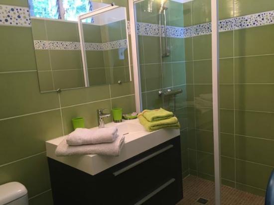Les Reves d'Or : gite 4 salle de bain