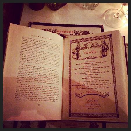Barroco: Love the cocktail book!