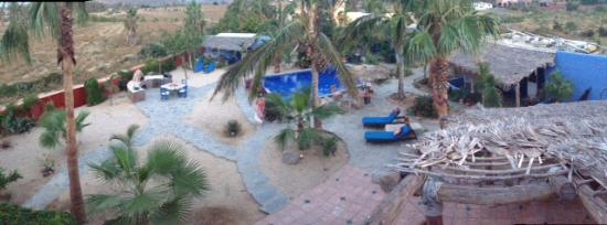 Baja Beach Oasis: View From the Top of Bobbi's casa.
